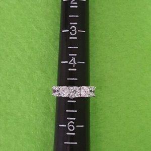 925 CZ Sterling Silver Ring Bridal